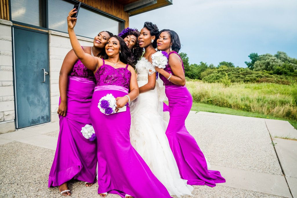 Engagement Bridal Party - Allen Oba Studios