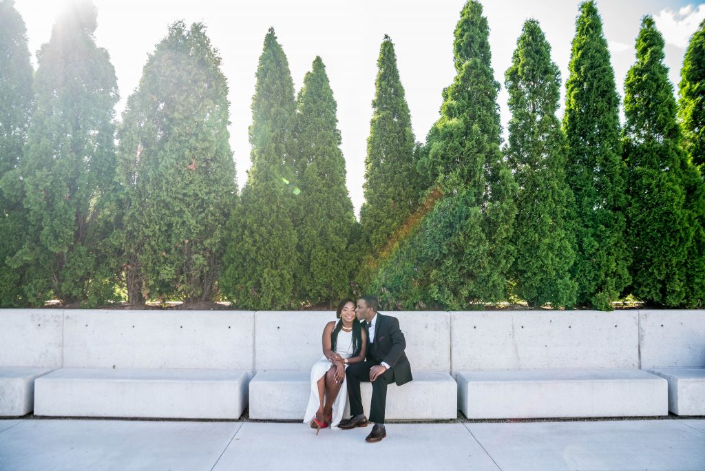 Engagement Session Aga Khan Museum - Allen Oba Studios