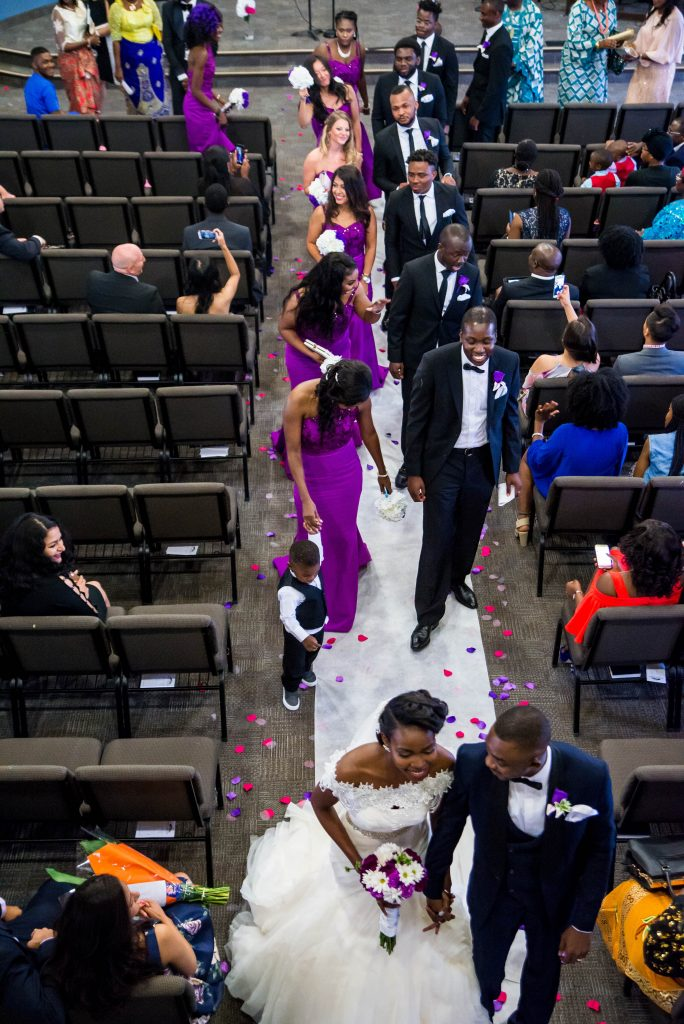 Nigerian Brampton Wedding Photographer - Allen Oba Studios