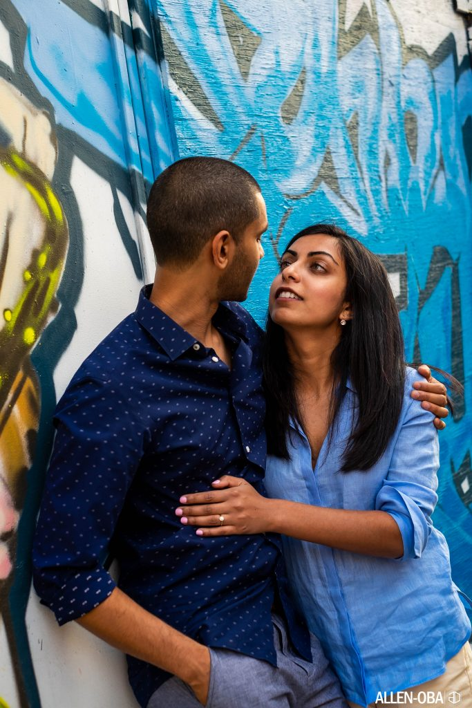 Kensington Market Engagement Shoot - Allen Oba Studios